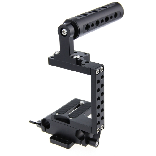 CAMVATE DSLR Camera Cage Steadicam Handheld Gimbal for BMPCC Sony Panassonic 4K Micro