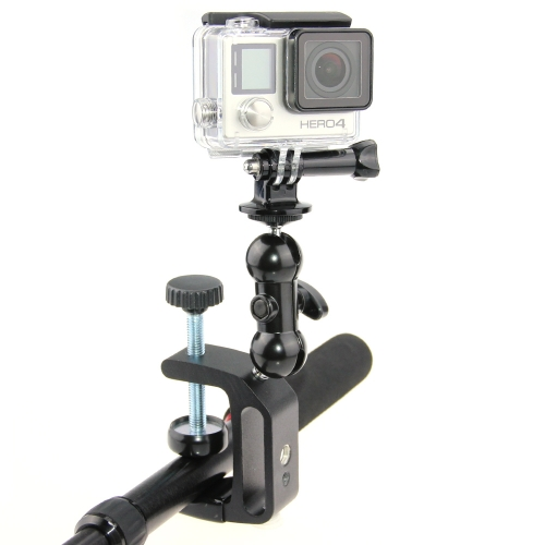 C-Clamp Desktop Mount Holder Stand for DSLR Camera Gopro Hero 4 3 2 1