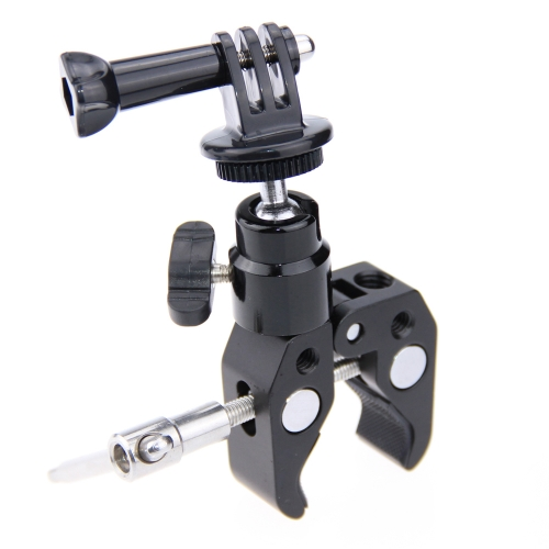 CAMVATE Rail Mount & Super Clamp Desktop Holder Mount for Gopro Hero 4 3 2 1