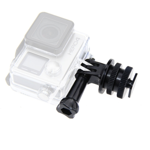 CAMVATE CAMVATE 1/4'' Hot cold Shoe Adapter Tripod Mount Screw For GoPro Hero 2 3 3+ 4 5