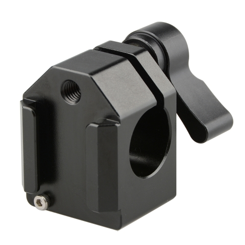 CAMVATE Cold Shoe Rod Clamp (Black Wingnut)