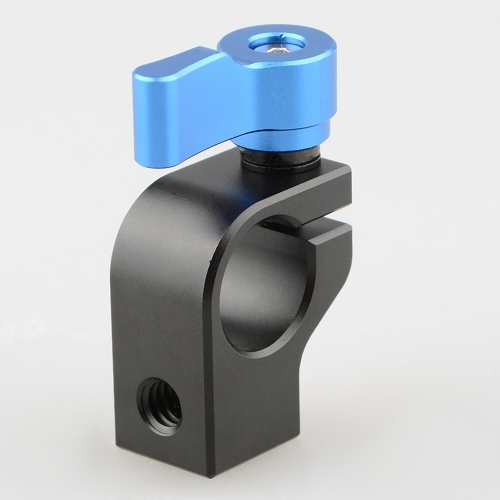 CAMVATE 15mm Rod Clamp (Blue Thumbscrew)