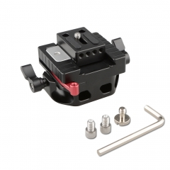 CAMVATE Quick Release Baseplate Rail Mount for 15mm Support System