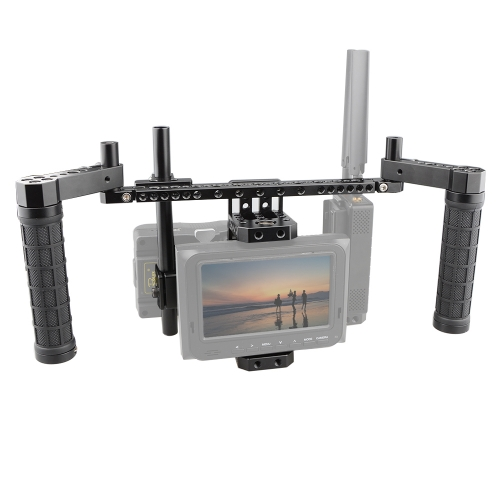 CAMVATE Director's Monitor Cage Kit with V-Lock Plate