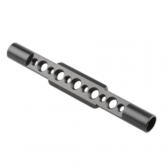 Camvate 15mm Side Rod with Threads&Nato Rail (145mm long)