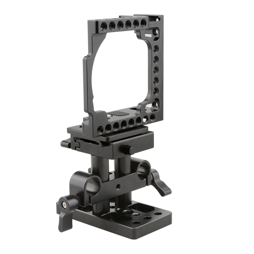 CAMVATE Cage with Quick Release Baseplate Pack for A6500