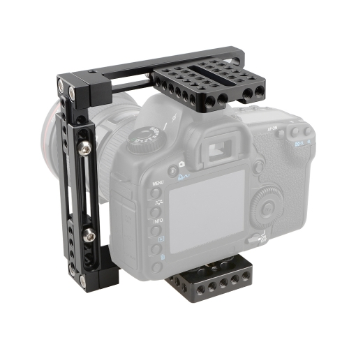 CAMVATE Dual-use Adjustable Cage for 80D, GH5 (Basic)