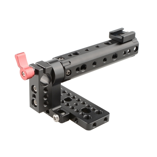 CAMVATE Top Plate Handle Grip for BlackMagic Camera BMCC Cinema Camera Handle