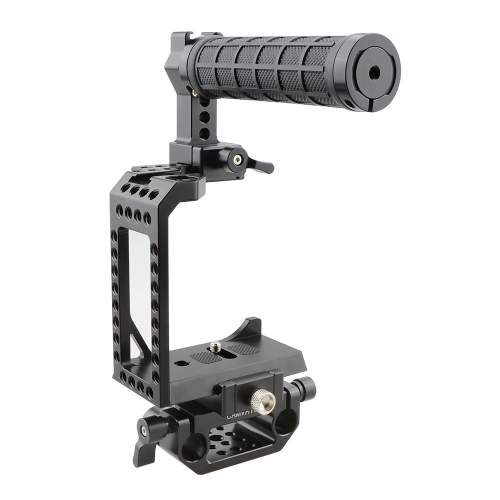 CAMVATE C-frame Cage With Top Handle And Rod Clamp For Sony A7s A7RII A7s2 A7sII A7r3 A7r4 A73 A9