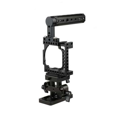 CAMVATE Cage With QR Baseplate Pack for Sony A6600 A6500 A6400 A6300 A6000