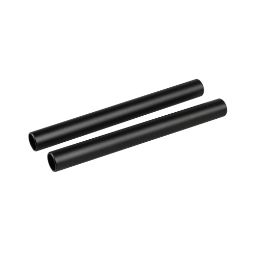 CAMVATE 15mm Rod Aluminum Anodized M12 Pipe 150mm Long (2 Tubes)