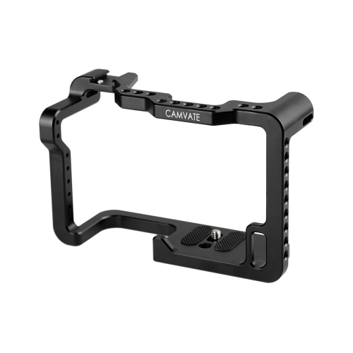 CAMVATE Panasonic GH5 Camera Cage Full Frame With Shoe Mount