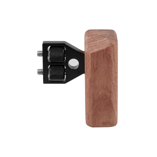CAMVATE DSLR Wooden Handle fr right Grip Mount Support fr DV Video Cage Rig