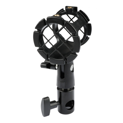 CAMVATE Microphone Bracket Combined With Light Pole Connector