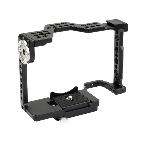 CAMVATE Full Camera Cage With Quick Release Attachment & ARRI Rosette For Sony a7 II, a7R II, a7S II, a7 III, a7R III, A7r4, a9 Series