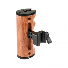 CAMVATE Camera Wooden Handle With NATO Clamp