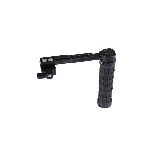 CAMVATE NATO Handle Grip (Rubber) L Type For DSLR Cameras