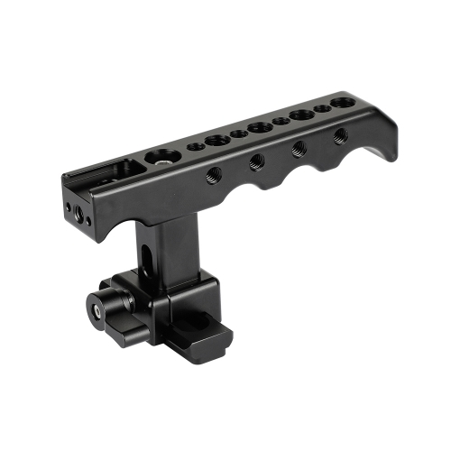 CAMVATE Quick Release NATO Top Cheese Handle With NATO Safety Rail For DSLR Camera Cage Rig