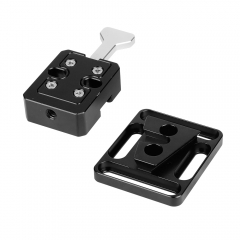 CAMVATE Quick Release V-Lock Base Station And Wedge Kit