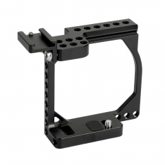 CAMVATE Compact Camera Cage Rig With Shoe Mount Adapter For Sony A6000 / A6300 / A6400 / A6500 & Canon EOS M / M10