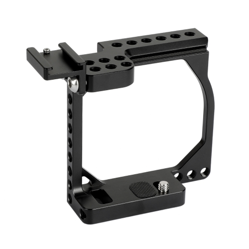 CAMVATE Compact Camera Cage Rig With Shoe Mount Adapter For Sony A6000 / A6300 / A6400 / A6500 / A6600 & Canon EOS M