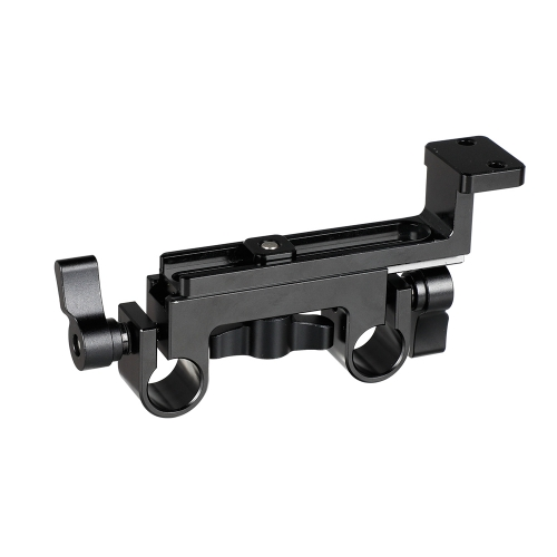 CAMVATE 15mm Dual Rod Clamp With Vertical Connecting Plate