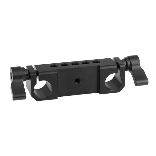 "CAMVATE Versatile 15mm Double Rod Bracket Clamp With 1/4"" & 3/8"" Mounting Points For DSLR Camera Rod System"