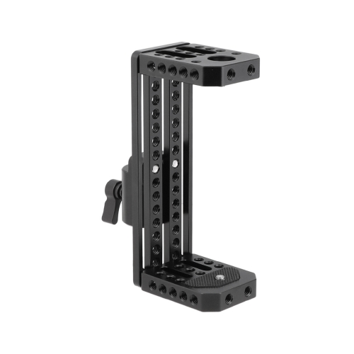 CAMVATE On-camera Monitor Holder C Frame Cage With Light Stand Head (Max. Column Diameter 16mm)