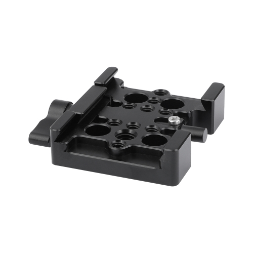 CAMVATE Manfrotto Quick Release Adapter Baseplate Slide-in Style For Padded Shoulder Mount & Manfrotto 577 / 501 / 701 / Tripod