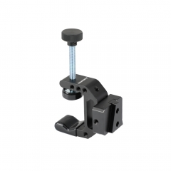 "CAMVATE Robust C Clamp With 1/4"" Mounting Points + Quick Release V-Lock Mount Wedge Kit"
