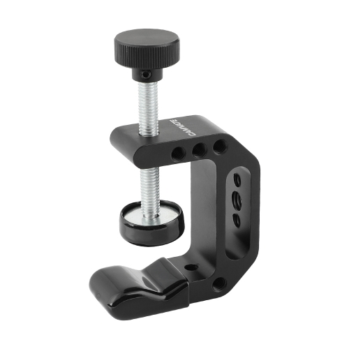 CAMVATE Universal C-Clamp Aluminum Support Clamp Desktop Mount Holder Stand with 1/4inch-20 & 3/8inch -16 Metal Female Socket