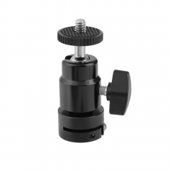 "CAMVATE Versatile Ball Head Support Holder With 1/4"" Male Thread Mount & Standard 15mm Rod Port"
