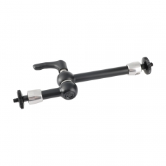 "CAMVATE Upgraded 8"" Articulating Magic Arm With Double-end 1/4"" Ball Head Adapter & Strengthened Central Lock Knob"
