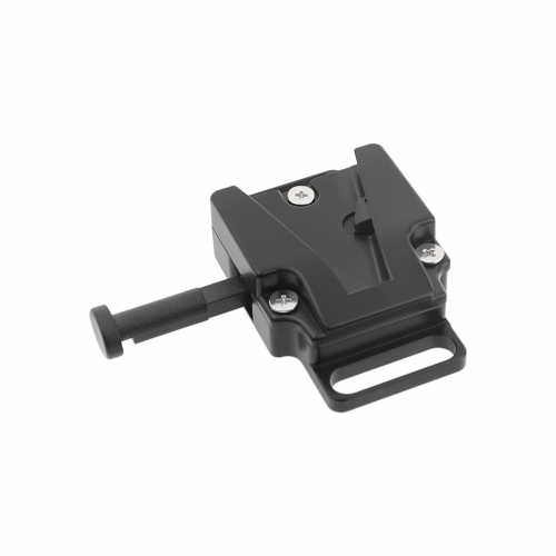 "CAMVATE Universal V-Lock Female Quick Release Adapter With 1/4"" Mounting Points & Grooves For DSLR Camera Battery"