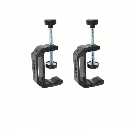 "CAMVATE Super C Clamp (Extended Edition) With 1/4"" & 3/8"" Mounting Points For Photographic Accessories (2 Pieces)"