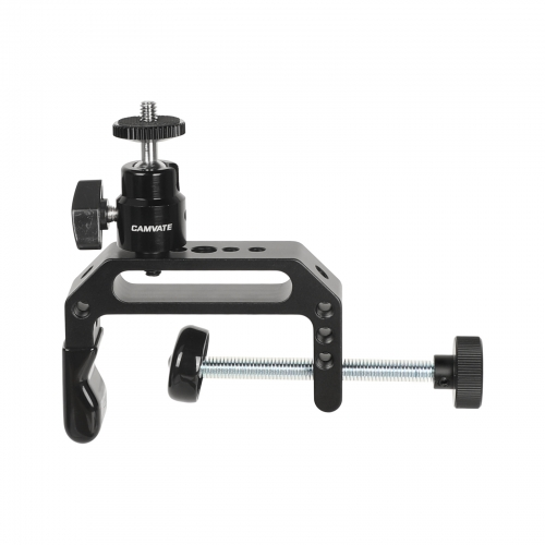 "CAMVATE Universal Super C Clamp (Extended Edition) With 1/4""-20 Ball Head Support Holder For Photographic Accessories"