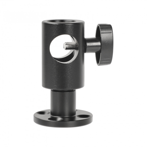 CAMVATE Light Stand Head With Circular Wall Mount Base