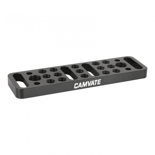 "CAMVATE Multi-function Mounting Plate Cheese Plate with 1/4""-20 and 3/8""-16 Connections"