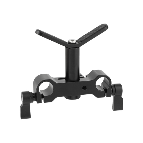 CAMVATE Adjustable Camera Lens Support Y Type With Standard 15mm Double Railblock Clamp