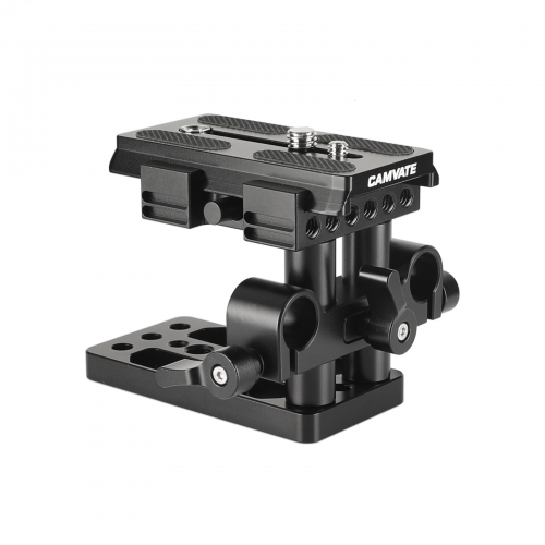 CAMVATE Quick Release Mount Base QR Plate for Manfrotto Standard Accessory