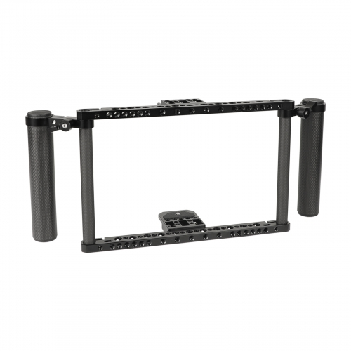 "CAMVATE 7"" Director's Monitor Cage Kit With Adjustable Carbon Fiber Handgrip For Atomos Ninja Inferno / Shotgun 7"