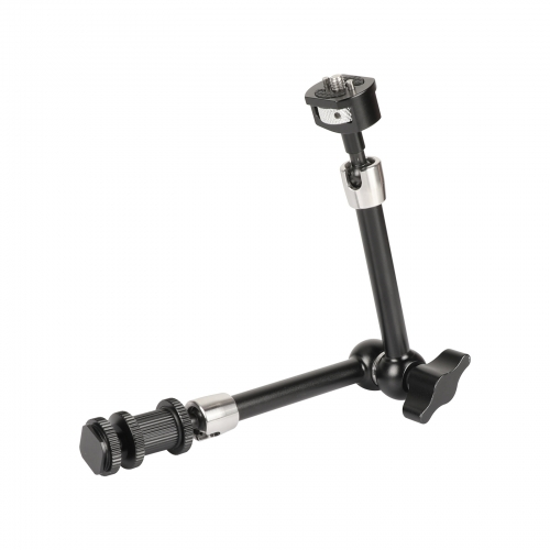 CAMVATE Multi-purpose 11'' Magic Arm With 1/4''-20 Male Threads & Locating Pins & Shoe Mount Adapter