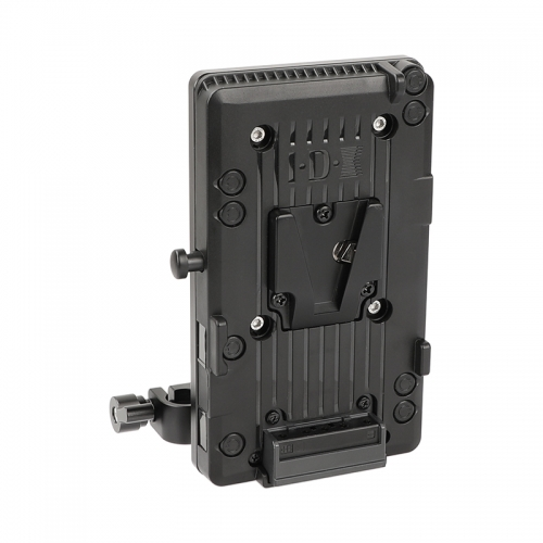 CAMVATE IDX P-V2 Quick Release V Mount Camera Plate With Rotatable 15mm Rail Blocks