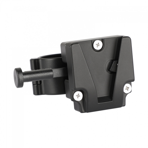 CAMVATE Mini V-Lock Quick Release Adapter With DJI 25mm Rod Clamp For DSLR Camera Battery