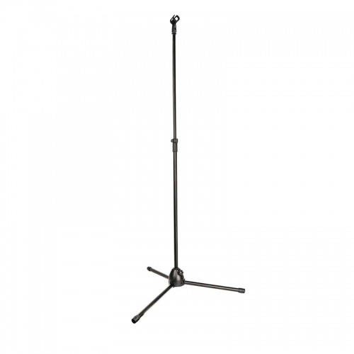 CAMVATE Tripod Microphone Boom Stand With Non-slip Mic Clip & Heavy Metal Base For Studio Recording Stage Performance (Upgraded Quality)