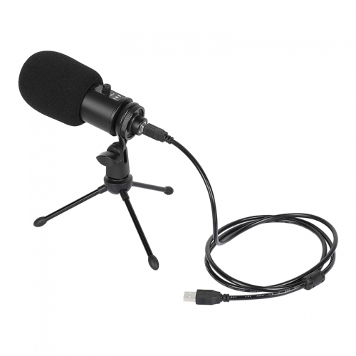 CAMVATE USB Condenser Microphone Cardioid 192KHZ/24 Bit Mic Kit Plug And Play With Tripod Desk Stand For Mac And Windows PC / Notebook
