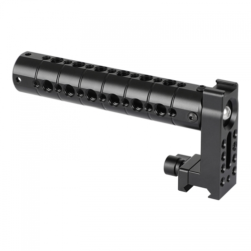CAMVATE Top Cheese Handle Grip Aluminum Made With Quick Release NATO Clamp For DSLR Camera Cage Rig